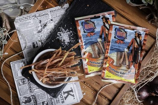 Suszona ryba - dorsz suszony pikantny